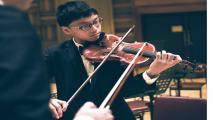 'Thần đồng violon' Trần Lê Quang Tiến: Một tư chất lạ