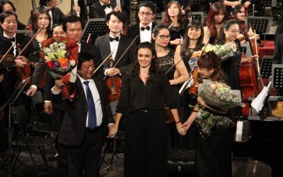 Festival Âm nhạc mới Á - Âu: chùm ảnh 4