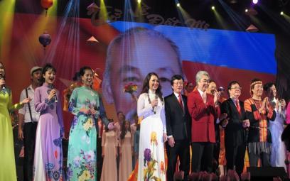 """Đêm nhạc """"Trở về đất mẹ"""" - Nguyễn Văn Thương"""