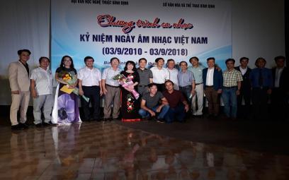 Ngày Âm nhạc Việt Nam 2018 tại Bình Định