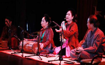 Trình diễn tác phẩm của nhạc sĩ Nguyễn Thiện Đạo