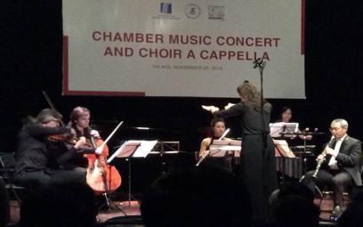 """Festival Âm nhạc mới """"Á - Âu"""" 2018: Các chương trình hòa nhạc thính phòng họp xướng"""