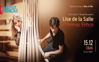 Song tấu piano tại Trung tâm Văn hóa Pháp