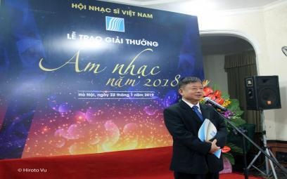 Tổng kết Giải thưởng Âm nhạc Hội Nhạc sĩ Việt Nam năm 2018