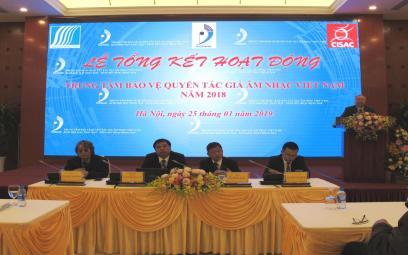 Trung tâm Bảo vệ Quyền tác giả Âm nhạc Việt Nam: Quyền lợi hợp pháp của các tác giả âm nhạc tiếp tục được đảm bảo