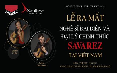 Swallow Guitar - Nhà phân phối chính thức Savarez tại Việt Nam