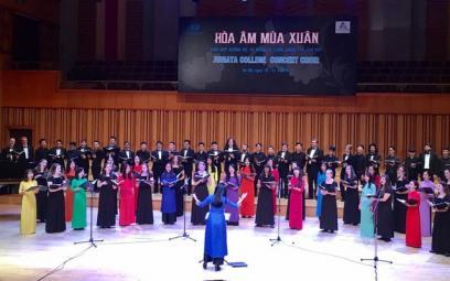 """Tổ chức Chương trình biểu diễn """"Hợp xướng"""" tại Học viện Âm nhạc Quốc gia Việt Nam"""