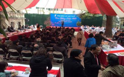 Hội Nhạc sĩ Việt Nam tổ chức gặp mặt hội viên Xuân Mậu Tuất 2018