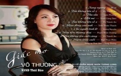 Giấc mơ vô thường của ca sĩ Thái Bảo