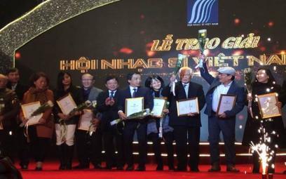 Trao Giải thưởng Âm nhạc Hội Nhạc sĩ Việt Nam 2017