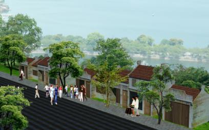 """ThonArt và tuyến phố đi bộ Tây Hồ mang tên họ """"Trịnh"""""""