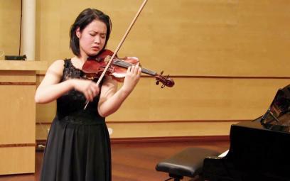 Tài năng violon Đỗ Phương Nhi trở về nước biểu diễn