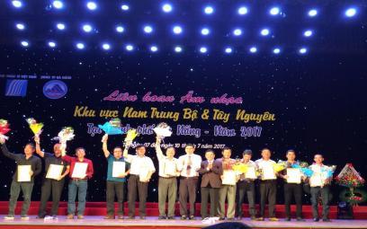Danh sách giải thưởng Liên hoan khu vực Nam Trung Bộ và Tây Nguyên (mở rộng)
