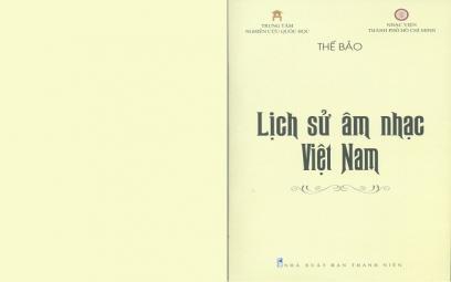"""Nhạc sĩ Thế Bảo với cuốn sách """"Lịch sử Âm nhạc Việt Nam"""""""