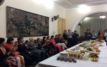 Tiệc mừng các nhạc sĩ được trao tặng Giải thưởng Hồ Chí Minh và Giải thưởng Nhà nước 2016