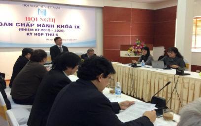 Hội nghị Ban Chấp hành Hội Nhạc sĩ Việt Nam kỳ 6 khóa IX
