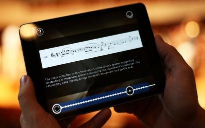 Ứng dụng nhạc cổ điển gửi chương trình tới điện thoại theo thời gian thực