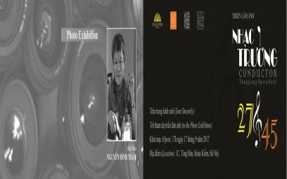 Ảnh Chân dung các nhạc trưởng qua ống kính Nguyễn Đình Toán: chùm ảnh 2