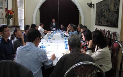 Hội Nhạc sĩ Việt Nam: Hội nghị về hoạt động của Trung tâm Bảo vệ quyền tác giả âm nhạc Việt Nam