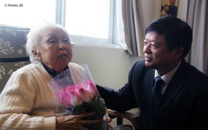 Chùm ảnh thăm một số hội viên cao niên
