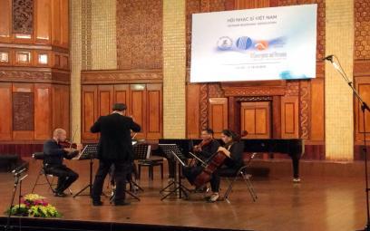 Liên hoan Âm nhạc Mới Á - Âu 2016: chương trình hòa nhạc thính phòng ngày 16-10-2016