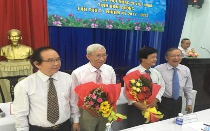 Đại hội thành lập Chi hội Nhạc sĩ Việt Nam tỉnh Bình Dương