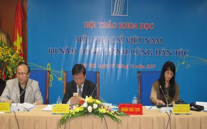 Chùm ảnh 2 Hội thảo kỷ niệm 60 năm Hội Nhạc sĩ VN tại Hà Nội