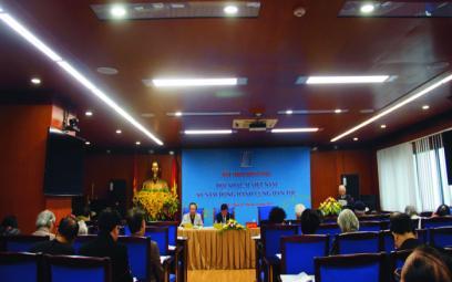 Chùm ảnh 1 Hội thảo kỷ niệm 60 năm Hội Nhạc sĩ VN tại Hà Nội