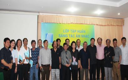 Lớp tập huấn sáng tác tại Tây Ninh: Chùm ảnh 1