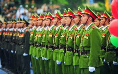 Ca khúc về Công an nhân dân Việt Nam