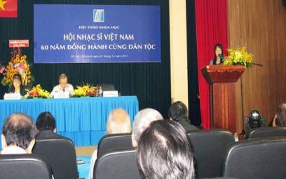 Chùm ảnh Hội thảo kỷ niệm 60 năm Hội Nhạc sĩ tại TPHCM