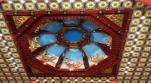 Dàn bát âm trên vòm trần Thiên vương cổ sát