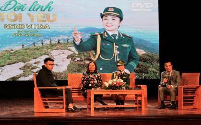 NSND Vi Hoa: Còn khán giả, còn hơi thở là còn hát