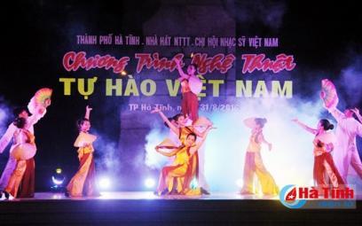"""Đặc sắc chương trình nghệ thuật """"Tự hào Việt Nam"""""""