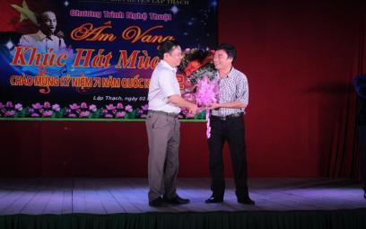 Chùm ảnh Ngày Âm nhạc Việt Nam 2016 tại Vĩnh Phúc và Nam Định