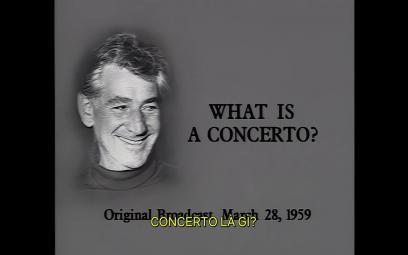 Embedded thumbnail for Bernstein: Hòa nhạc cho giới trẻ - Concerto là gì?