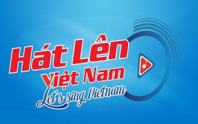 """LOGO chính thức của """"Hát lên Việt Nam – Let's sing Vietnam"""" - Đài TNVN"""